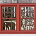 Double Red Window