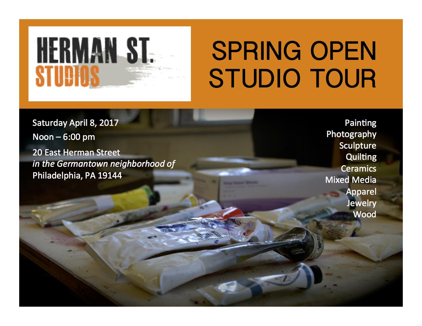 Spring Studio Tour 2017